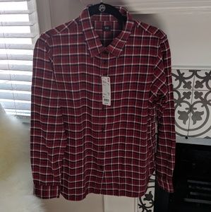 NWT Uniqlo Flannel Shirt